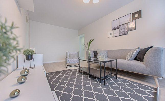 Wie richte ich mein Wohnzimmer ein?